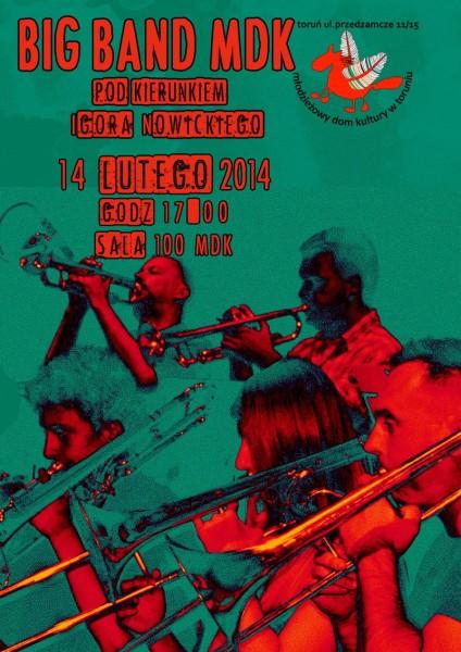 Big Band koncert 14.02