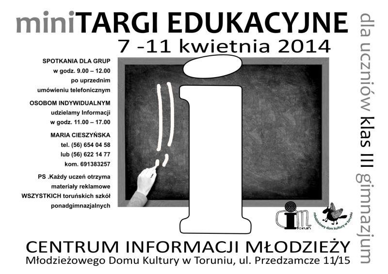 mini targi edukacyjne 2014 mały
